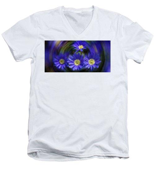 Purple In Nature Men's V-Neck T-Shirt