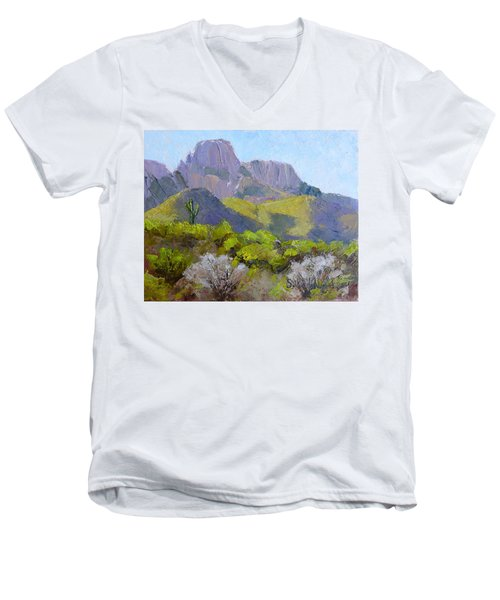 Pusch Ridge II Men's V-Neck T-Shirt