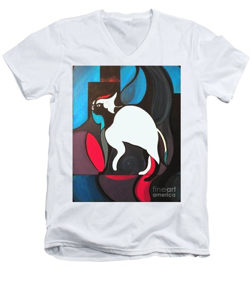 Pyewacket Men's V-Neck T-Shirt