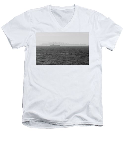 Quiet Giants Men's V-Neck T-Shirt