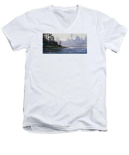 Quiet Shore Men's V-Neck T-Shirt