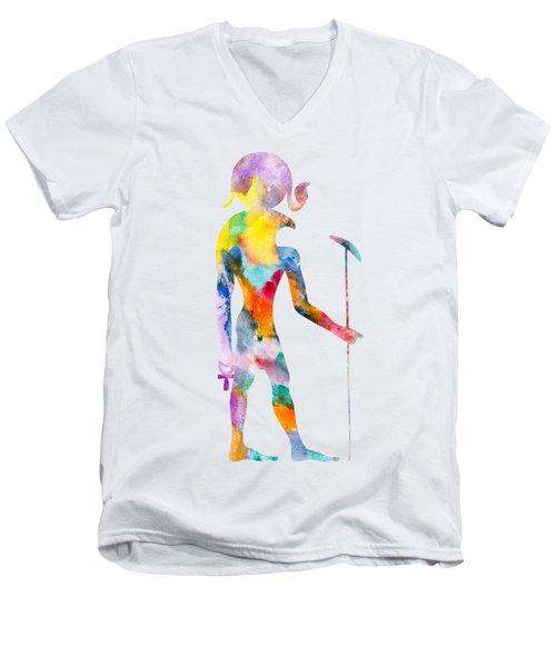 Ra - God Of Ancient Egypt Men's V-Neck T-Shirt