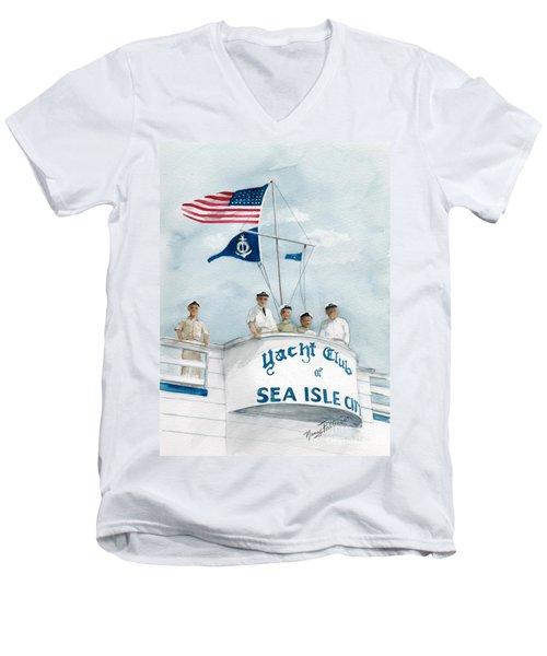 Race Committee  Men's V-Neck T-Shirt