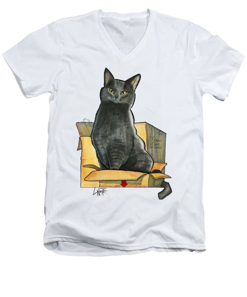 Rackley 3536 Men's V-Neck T-Shirt