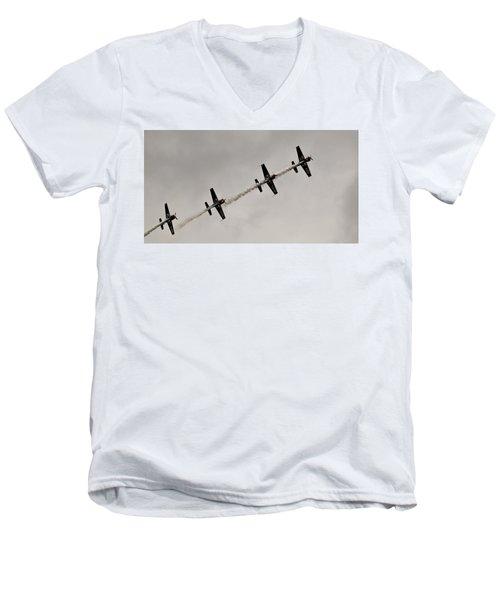 Raf Scampton 2017 - Global Stars In A Line Men's V-Neck T-Shirt