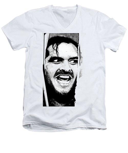 Rage Men's V-Neck T-Shirt by Joeri Van Royen