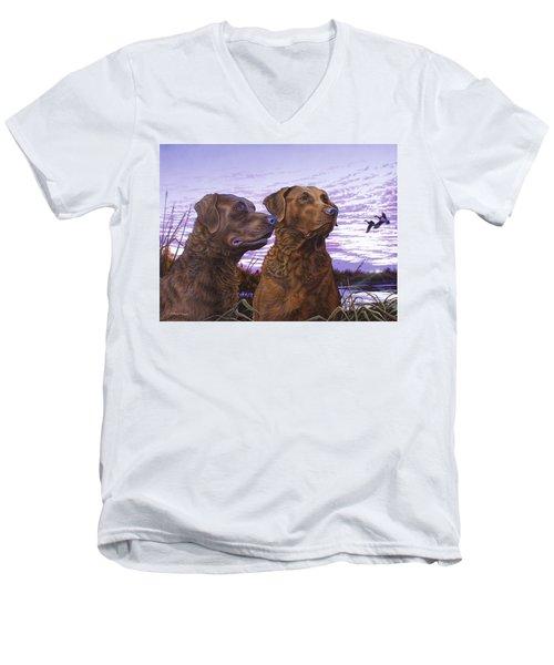 Ragen And Sady Men's V-Neck T-Shirt