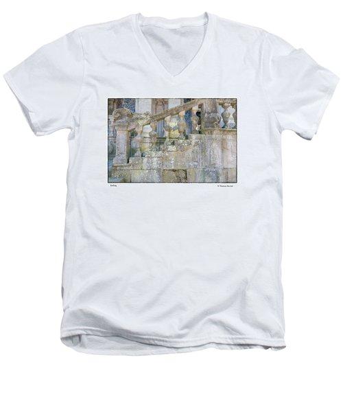 Railing Men's V-Neck T-Shirt
