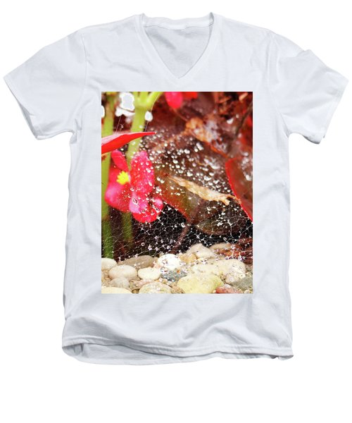 Rain Drops Men's V-Neck T-Shirt