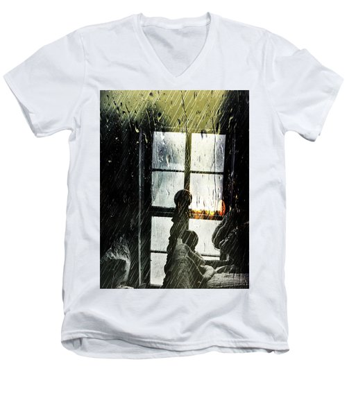 Rain In My Heart Men's V-Neck T-Shirt