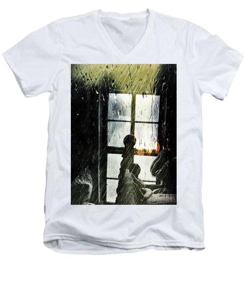 Rain In My Heart Men's V-Neck T-Shirt