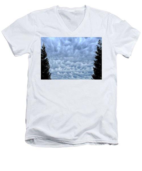 Rain Warning Men's V-Neck T-Shirt