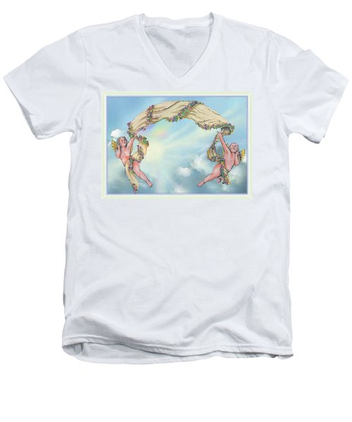 Rainbow Angels Men's V-Neck T-Shirt