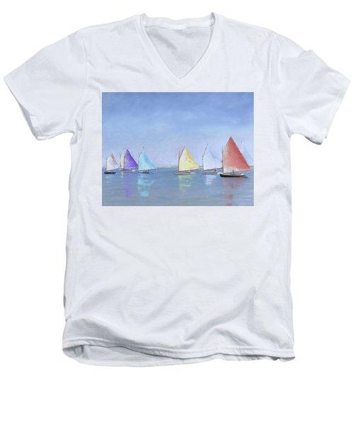 Rainbow Fleet Men's V-Neck T-Shirt