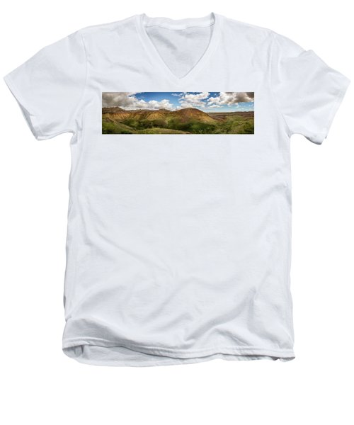 Rainbow Mountain Men's V-Neck T-Shirt