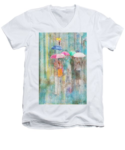Rainy In Paris 2 Men's V-Neck T-Shirt
