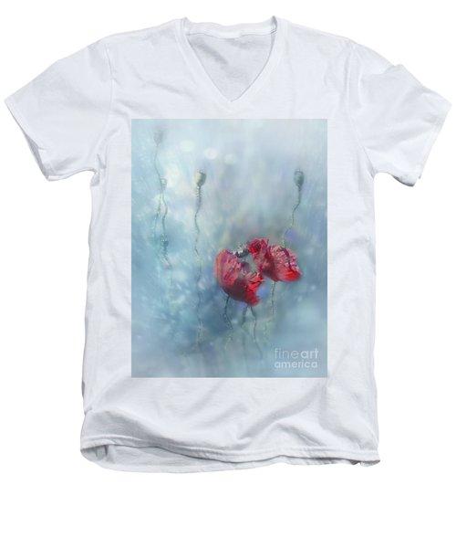 Rainy Summer Men's V-Neck T-Shirt