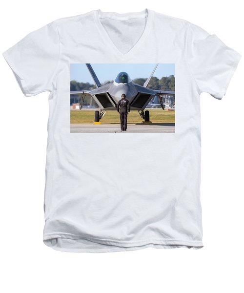 Raptor Handler II Men's V-Neck T-Shirt