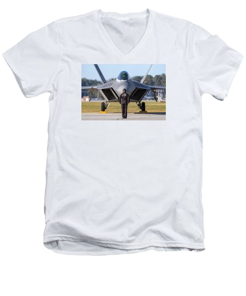 Raptor Handler II Men's V-Neck T-Shirt