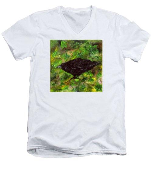 Raven In Ivy Men's V-Neck T-Shirt