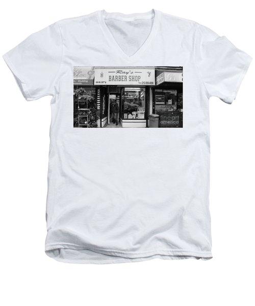 Ray's Barbershop Men's V-Neck T-Shirt