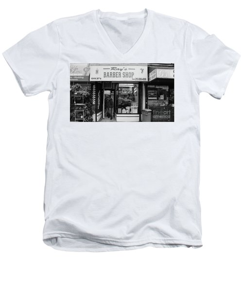 Ray's Barbershop Men's V-Neck T-Shirt