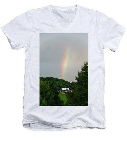 Rbp-1 Men's V-Neck T-Shirt