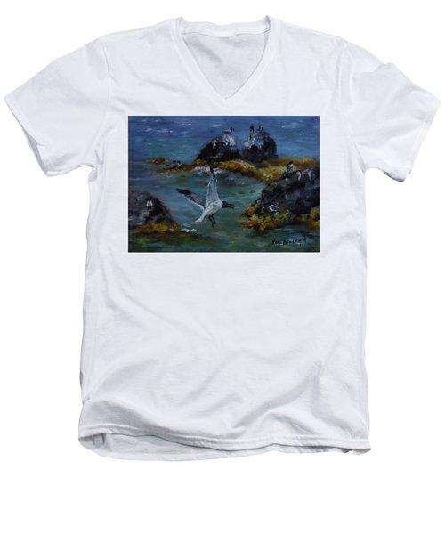Re-tern-ing Home Men's V-Neck T-Shirt