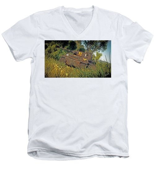 Ready And Waiting Men's V-Neck T-Shirt