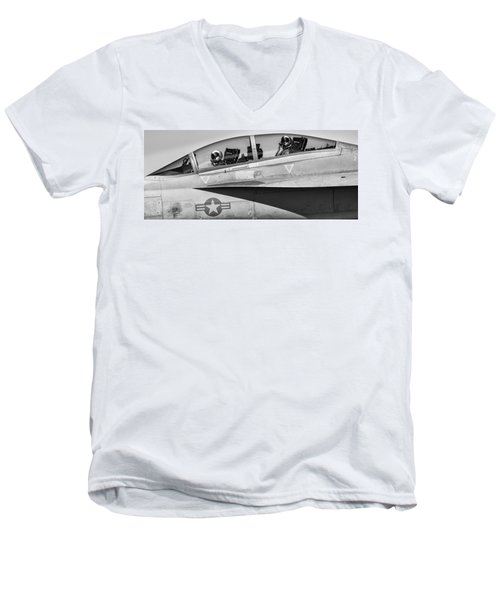 Ready And Willing Men's V-Neck T-Shirt