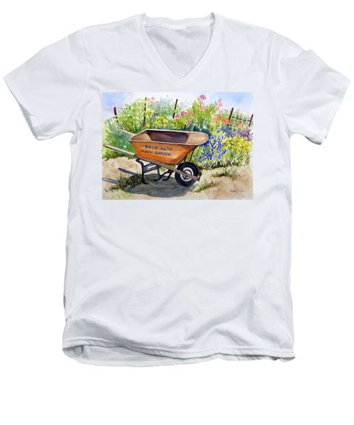 Ready At The Main Garden Men's V-Neck T-Shirt