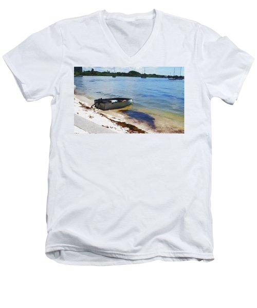 Ready To Go Men's V-Neck T-Shirt