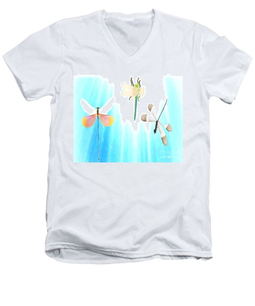 Realization Of Life Men's V-Neck T-Shirt