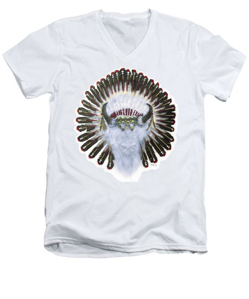 Rebirth Of Spirit Men's V-Neck T-Shirt