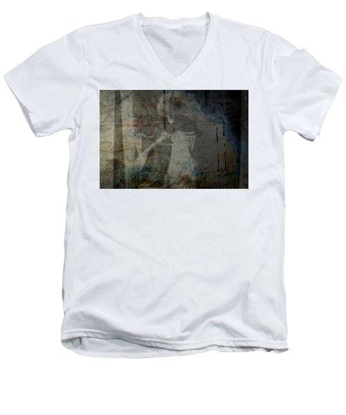 Recurring Men's V-Neck T-Shirt by Mark Ross
