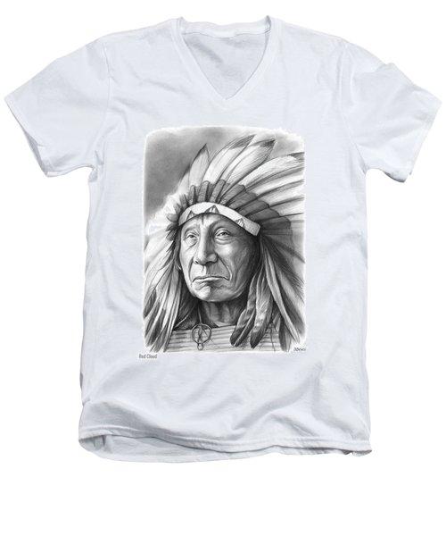 Red Cloud Men's V-Neck T-Shirt