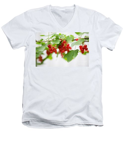 Red Currant Men's V-Neck T-Shirt