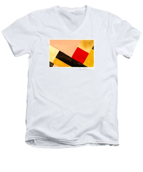 Red Square Men's V-Neck T-Shirt
