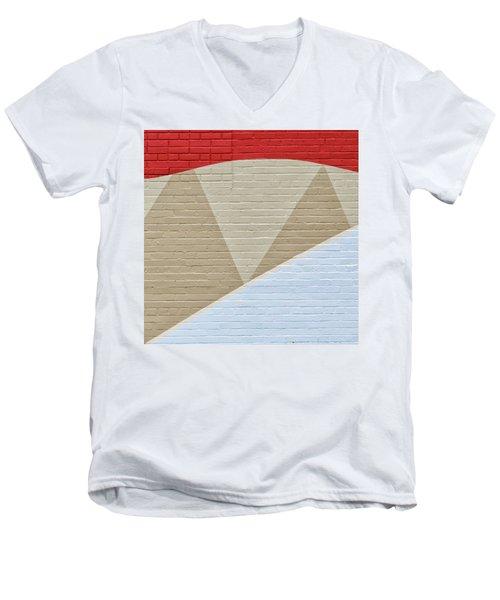 U-haul Art Men's V-Neck T-Shirt