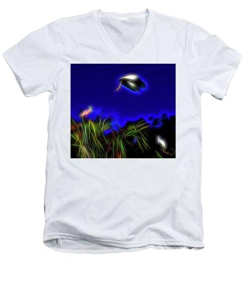 Redemption Men's V-Neck T-Shirt by William Horden