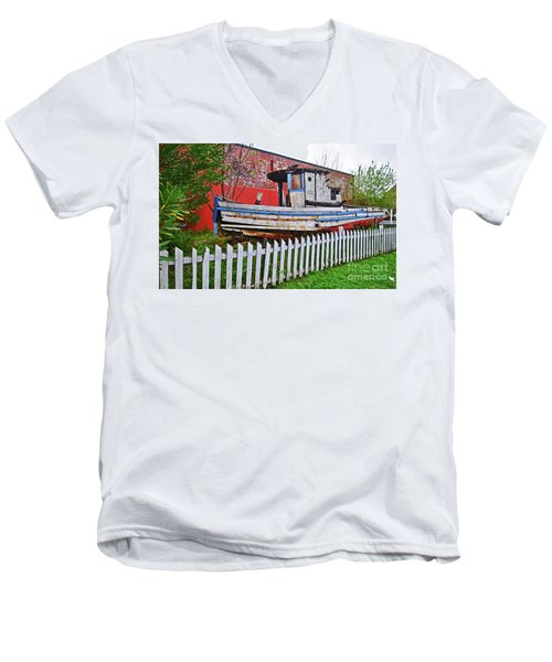 Redneck Dry Dock Men's V-Neck T-Shirt
