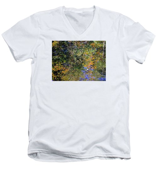 Reflected Glory Men's V-Neck T-Shirt by Tim Good