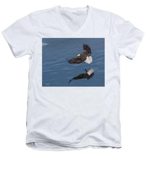 Reflected Strength Men's V-Neck T-Shirt