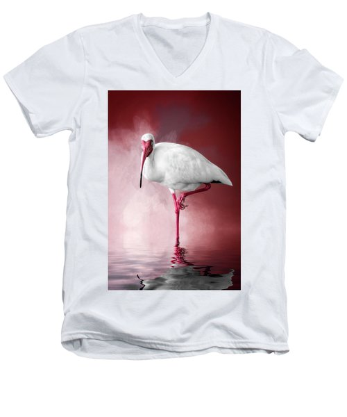 Reflecting On Life Men's V-Neck T-Shirt