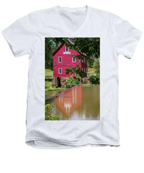 Starrs Mill Reflection Men's V-Neck T-Shirt