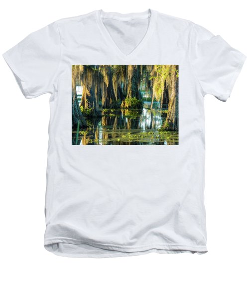 Reflections Of The Times Men's V-Neck T-Shirt