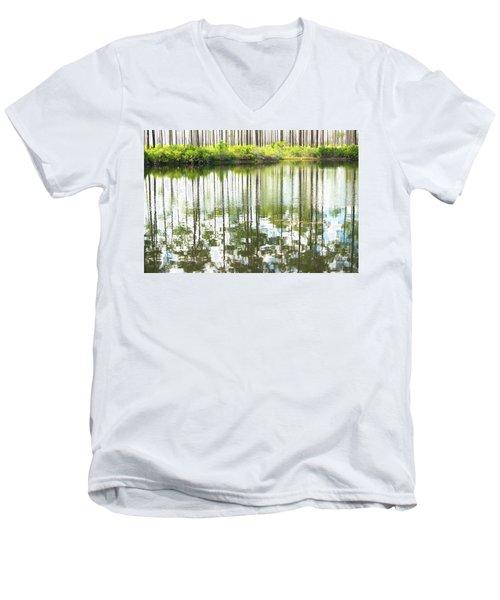 Reflex Lake Men's V-Neck T-Shirt