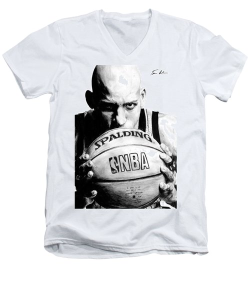 Reggie Miller Men's V-Neck T-Shirt
