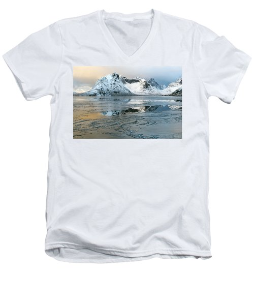 Reine, Lofoten 5 Men's V-Neck T-Shirt