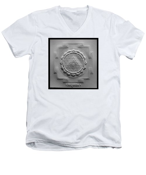 Relief Shree Yantra Men's V-Neck T-Shirt